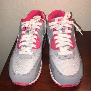Pink/grey air max 90